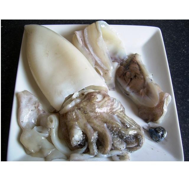Arroz de sepia a la bruta con guisantes frescos y alcachofas 003