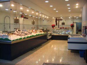 interior pescaderia Alfons Mar