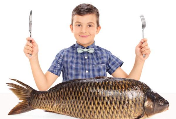 El pescado recomendado para la nutrición infantil